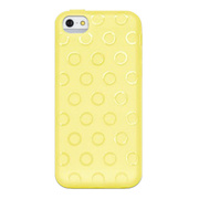 【iPhone5c ケース】Wave イエロー