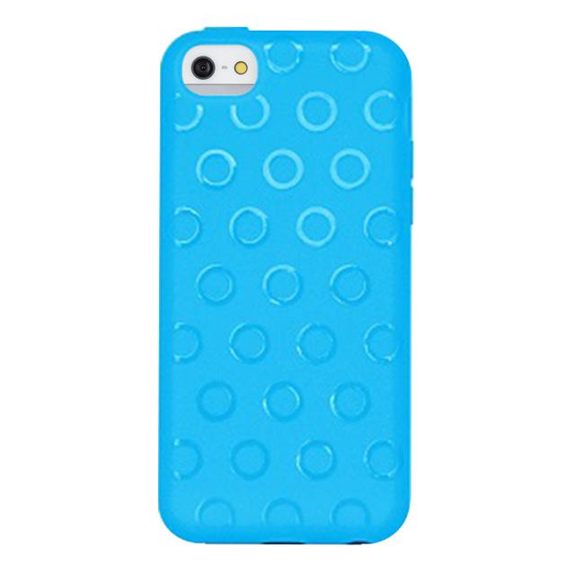 【iPhone5c ケース】Wave ブルー