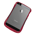 【iPhoneSE/5s/5 ケース】CLEAVE ALUMINUM BUMPER Mighty2 (Dark Night Red/Black)【バンパー】