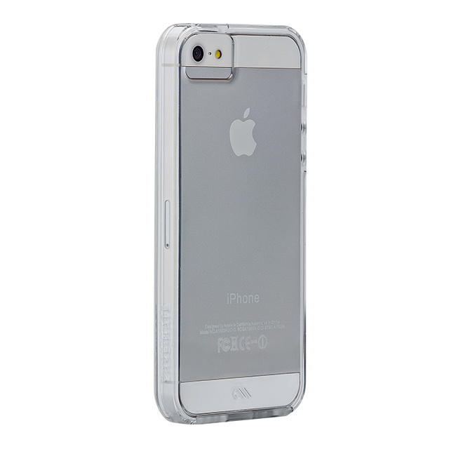 【iPhoneSE(第1世代)/5s/5 ケース】Hybrid Tough Naked Case (Clear/Clear)