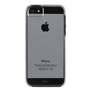 【iPhoneSE/5s/5 ケース】Hybrid Tough Naked Case (Clear/Black)