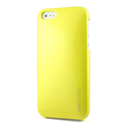 【iPhoneSE/5s/5 ケース】Ssongs BubblePack SuitCase (Pearl Lime Yellow)