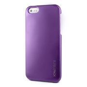 【iPhoneSE/5s/5 ケース】Ssongs BubblePack SuitCase (Pearl Purple)