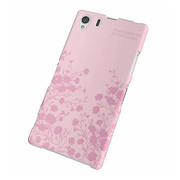 【XPERIA Z1 ケース】Xperia(TM) Z1/SOL23用シェルカバー for Girl フラワー(ピンク)
