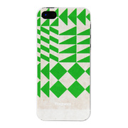 【iPhone5s/5 ケース】iFragrance(POLYGON GREEN)
