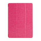 【iPad Air ケース】LeatherLook SHELL with Front cover for iPad Air Brilliant Pink