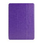 【iPad Air ケース】LeatherLook SHELL with Front cover for iPad Air Violet