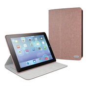 【iPad Air(第1世代) ケース】Cache Slim convertible folio case Red