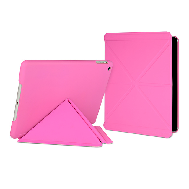 【iPad Air(第1世代) ケース】Paradox Sleek Flexi-folding folio case Pink