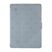 【iPad Air(第1世代) ケース】Megatron StyleFolio LoveSpace Nickel/Raspberry Pink