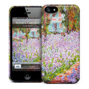 【iPhoneSE/5s/5 ケース】GELASKINS Hardcase Artist's Garden at Giverny