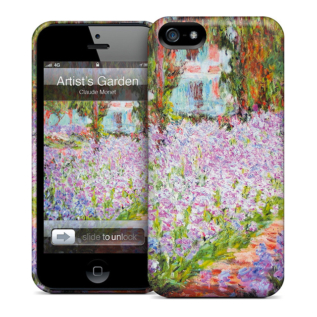 【iPhoneSE(第1世代)/5s/5 ケース】GELASKINS Hardcase Artist's Garden at Giverny