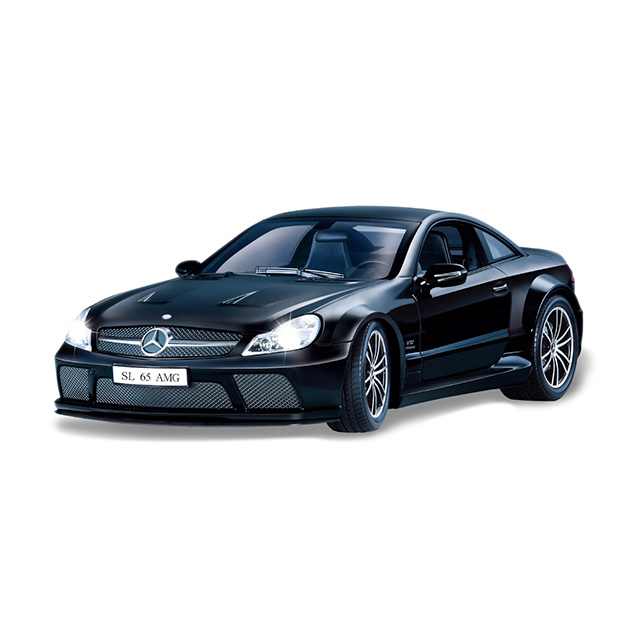 Benz SL65 controlled licensed car Black 1:16