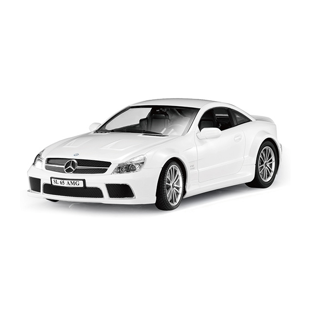 Benz SL65 controlled licensed car White 1:16