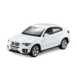 BMW X6 controlled licensed car White 1:14