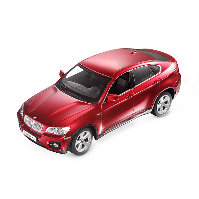 BMW X6 controlled licensed car Red 1:14