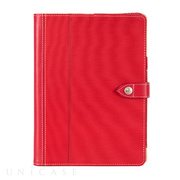 【iPad Air(第1世代) ケース】Back Bay Folio Case Red/Brown