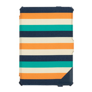 【iPad Air(第1世代) ケース】Journal Cabana Navy/Cheddar/Billiard