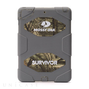 【iPad Air(第1世代) ケース】Survivor MossyOak Grey/Treestand