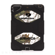 【iPad Air(第1世代) ケース】Survivor MossyOak Black/White Blaze