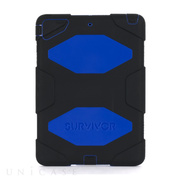 【iPad Air(第1世代) ケース】Survivor Case Black/Blue
