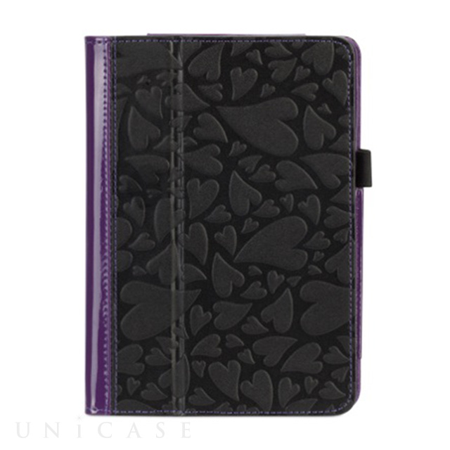 【iPad mini3/2/1 ケース】Moxy Love Folio Purple/Black