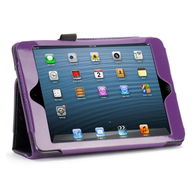 【iPad mini3/2/1 ケース】Moxy Love Folio Purple/Blackサブ画像