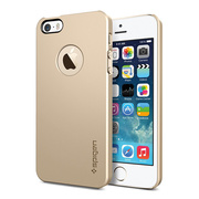 【iPhoneSE(第1世代)/5s/5 ケース】SPIGEN SGP Case Ultra Thin Air A Champagne Gold