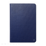 【iPad mini3/2/1 ケース】Masstige Metallic Diary ネイビー