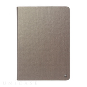 【iPad(9.7)/Air ケース】Masstige Metallic Diary (シルバー)