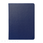 【iPad(9.7)/Air ケース】Masstige Metallic Diary (ネイビー)
