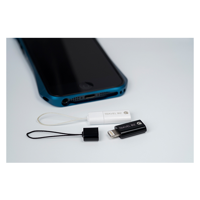 【Lightning変換アダプター】TRAVEL BIZ Lightning - Micro USB Adapter iPod/iPhone/iPad専用 Black【MFi取得】サブ画像