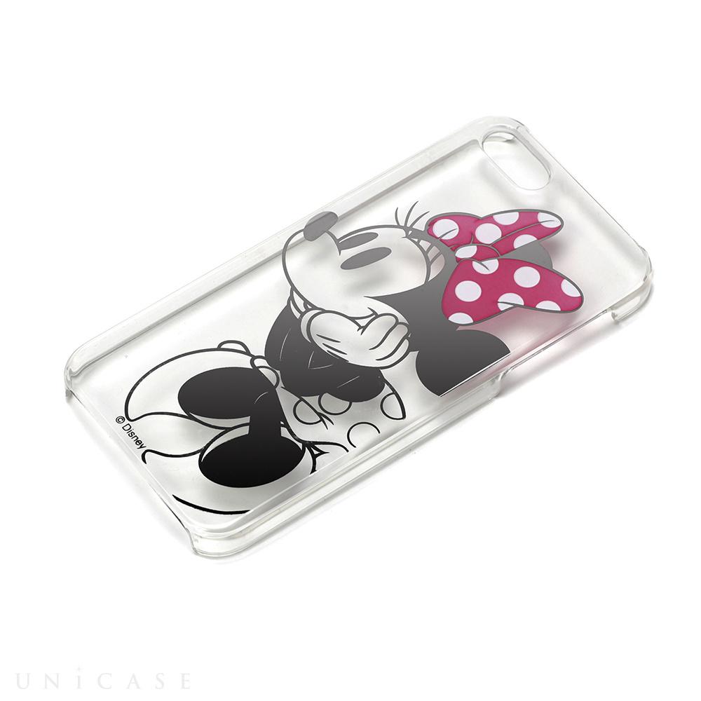 iphonese/5s/5 ケース】ディズニー pcケース クリア箔押し ミニーマウス
