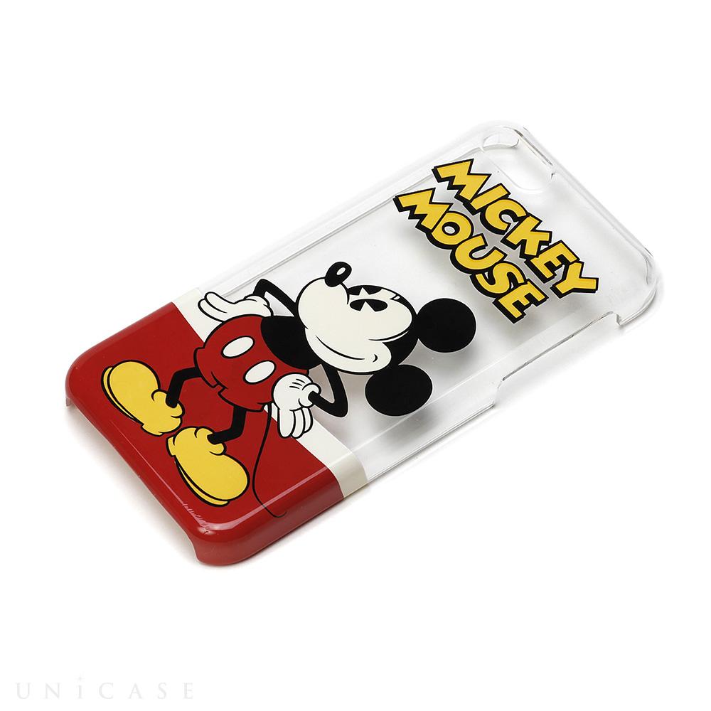 iphone5c ケース】ディズニー pcケース クリア ミッキーマウス pga