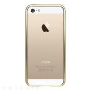 1fc1ac3865 【iPhoneSE/5s/5 ケース】金属製フレーム シャンパンゴールド/シャンパンゴールド