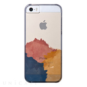 【iPhone5s/5 ケース】AViiQ Painting in Style Brown, Blue, Yellow