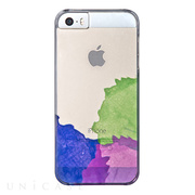 【iPhone5s/5 ケース】AViiQ Painting in Style Blue, Purple, Green