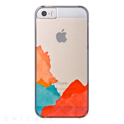【iPhone5s/5 ケース】AViiQ Painting in Style Orange, Green, Red