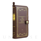 【iPhoneSE/5s/5c/5 ケース】Old Book Case (クラシック/ブラウン)【レザー】