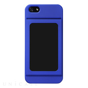 【iPhone5s/5 ケース】Bluevision OsaifuSlim for iPhone 5s/5 Indigo Blue