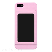 【iPhone5s/5 ケース】Bluevision OsaifuSlim for iPhone 5s/5 Pink