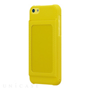 【iPhone5c ケース】Bluevision OsaifuSlim for iPhone 5c Yellow