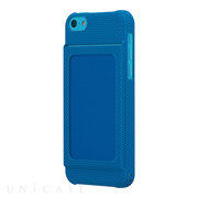 【iPhone5c ケース】Bluevision OsaifuSlim for iPhone 5c Blue