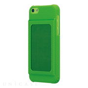 【iPhone5c ケース】Bluevision OsaifuSlim for iPhone 5c Green