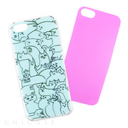 【iPhoneSE(第1世代)/5s/5 ケース】iPhone Case NEKO PUZZLE CR