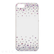 【iPhoneSE/5s/5 ケース】Bijou Bubble ~Point~ White