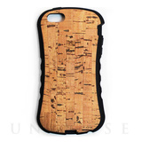 【iPhoneSE/5s/5 ケース】WOOD SKIN CASE Natural Cork