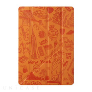 【iPad Air(第1世代) ケース】OZAKI O!coat Slim-Y Travel New York