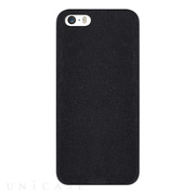 【iPhone5s/5 ケース】OZAKI O!coat Canvas Slim Light Black