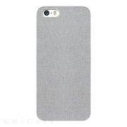 【iPhone5s/5 ケース】OZAKI O!coat Canvas Slim Light Grey